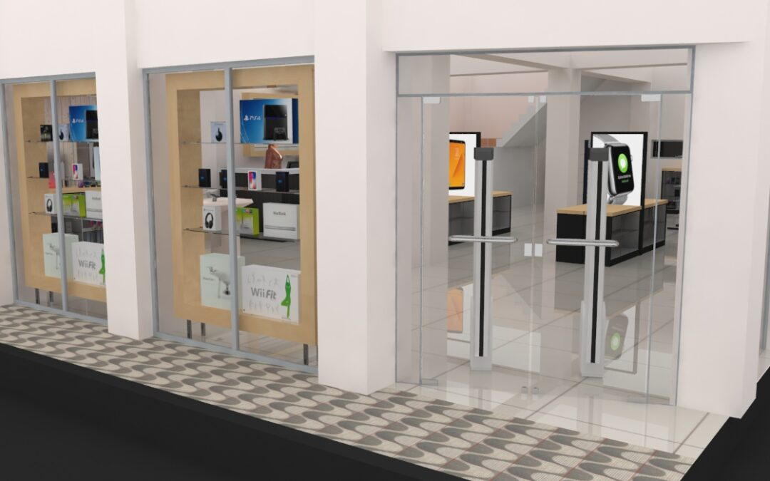 Proyectos 3D en renovación de locales comerciales