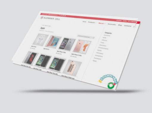 Ecommerce con Catalogo Web