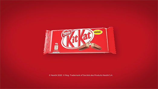 Kit Kat Mini – 3D Ads