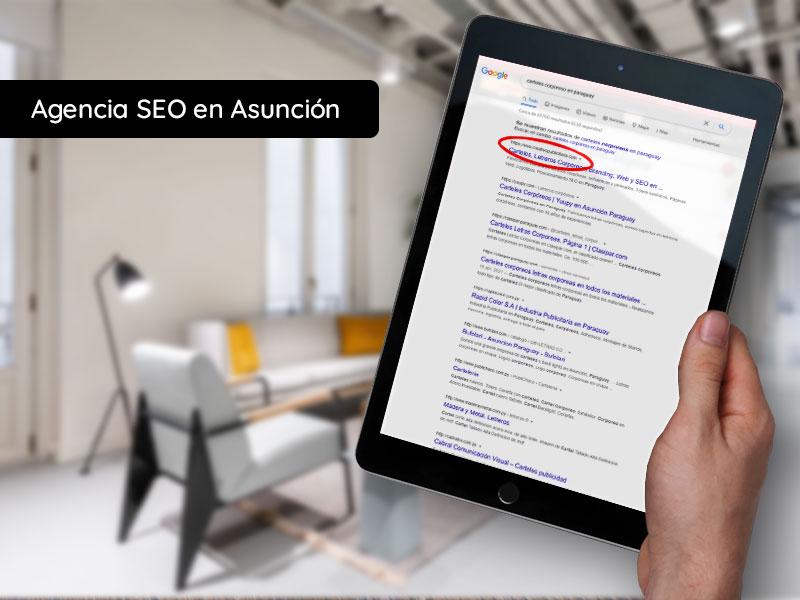 Agencia SEO en Asunción