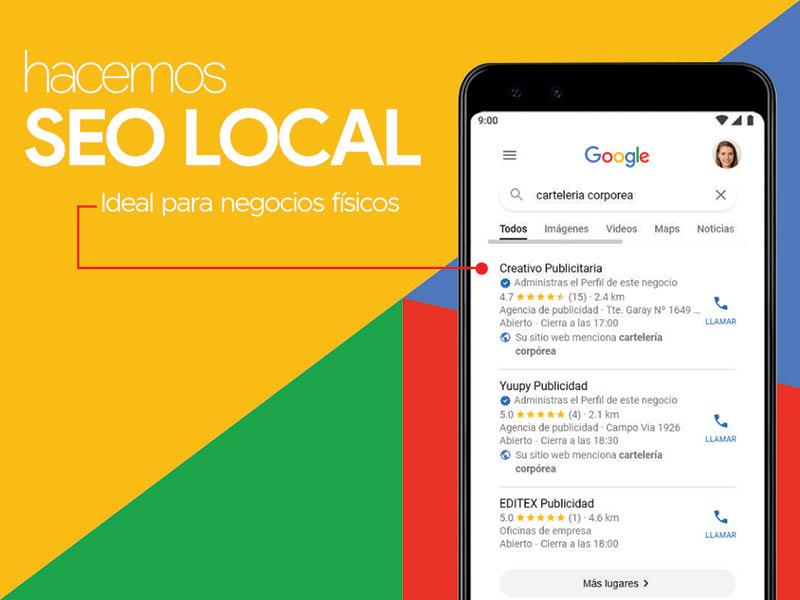 Servicio de SEO local en Paraguay